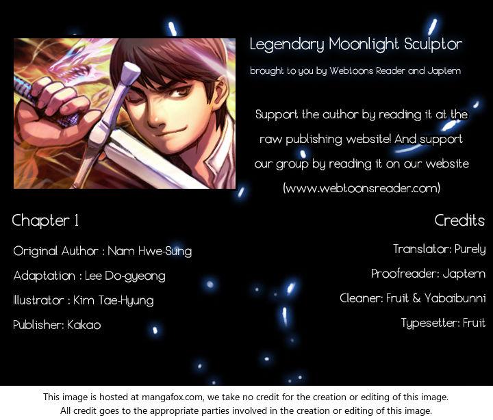 The Legendary Moonlight Sculptor 1 at MangaFox