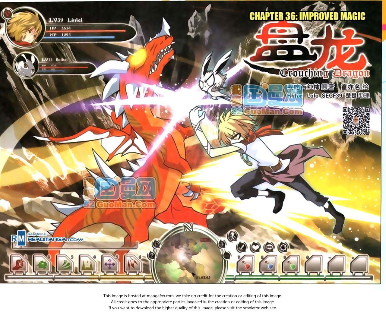 Panlong 36: Improved Magic at MangaFox