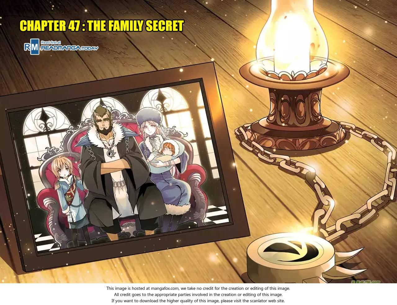 Panlong 47: The Family Secret at MangaFox