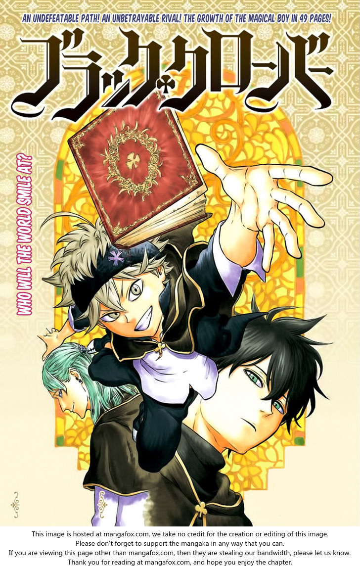 Black Clover 1: Oneshot at MangaFox