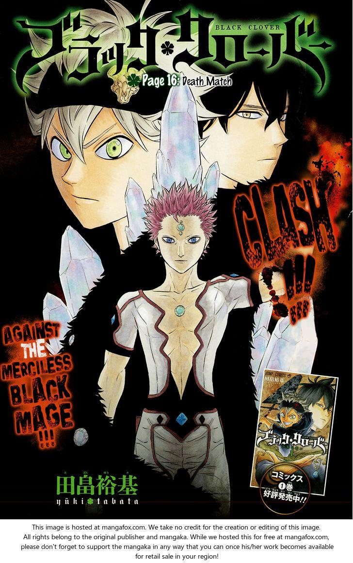Black Clover 16: Death Match at MangaFox