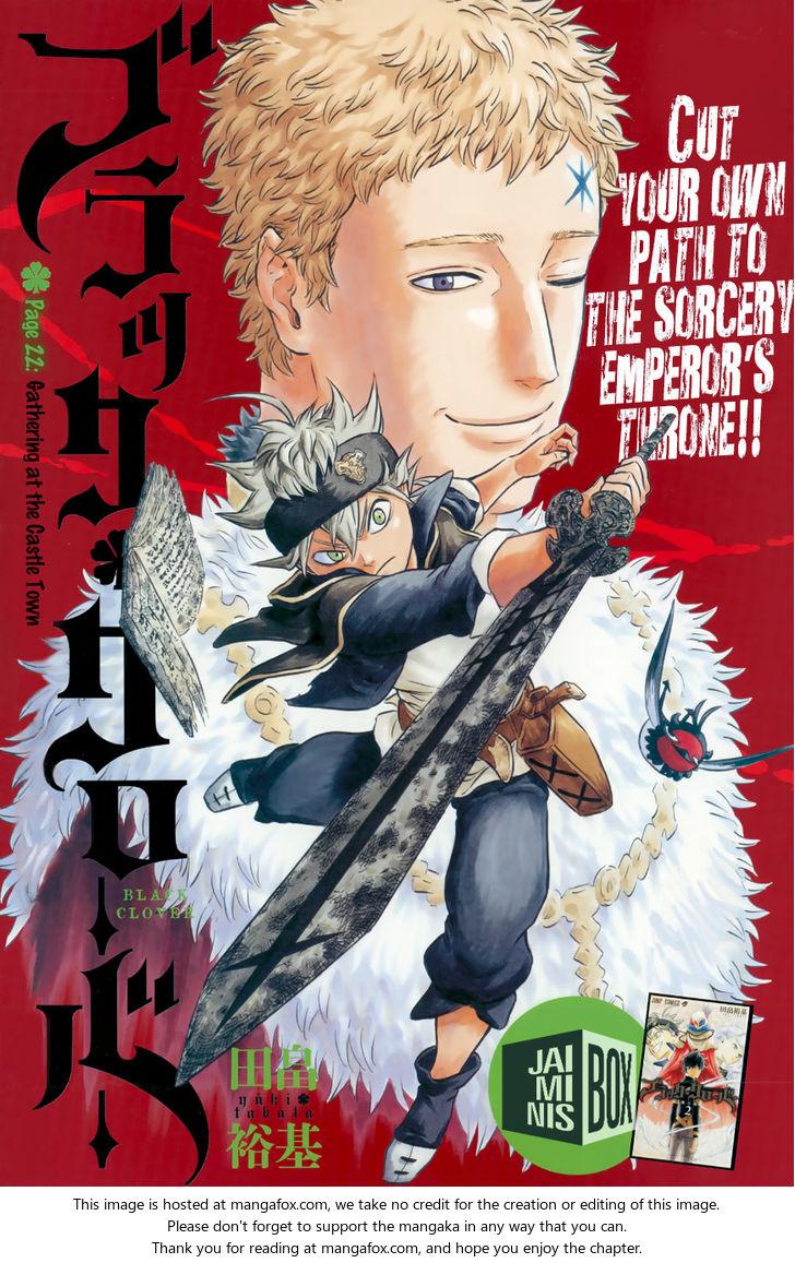 Black Clover 22: Gathering At The Kings Palace at MangaFox