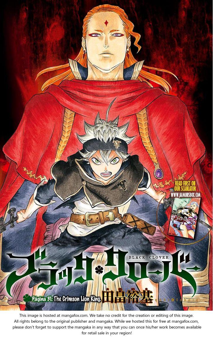 Black Clover 31: The Crimson Lion King. at MangaFox