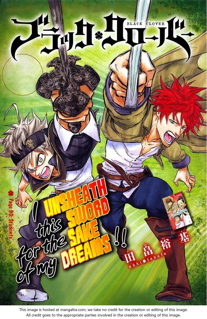 Black Clover 90: Students at MangaFox