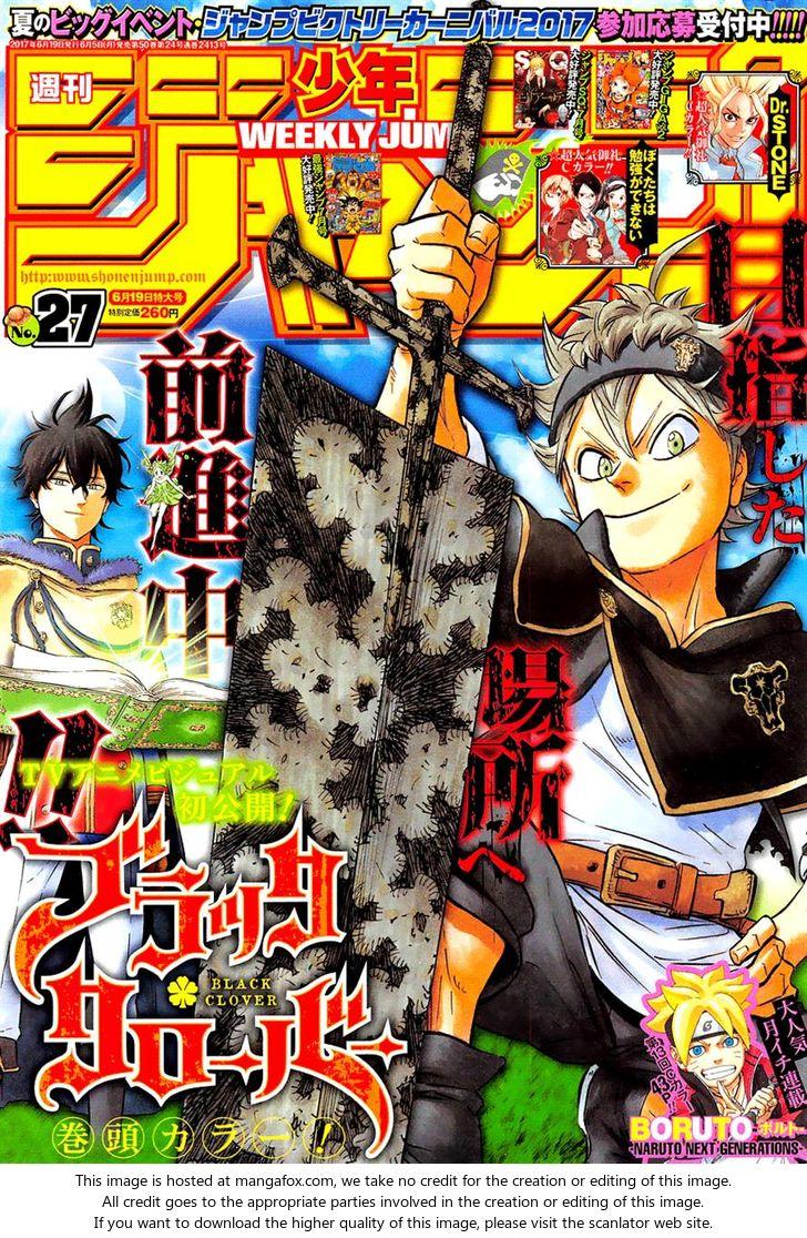 Black Clover 112: Royal Knights Selection Exam at MangaFox