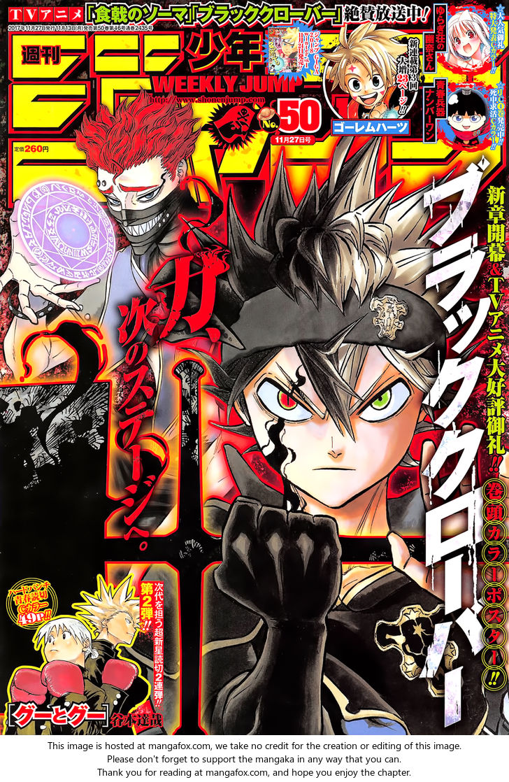 Black Clover 133: The Formation Of The Royal Knights at MangaFox