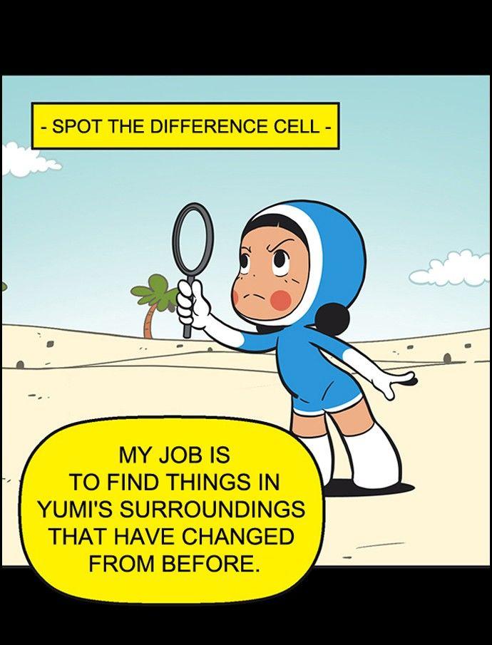 Yumi's Cells 175: Spot the Difference at MangaFox.la