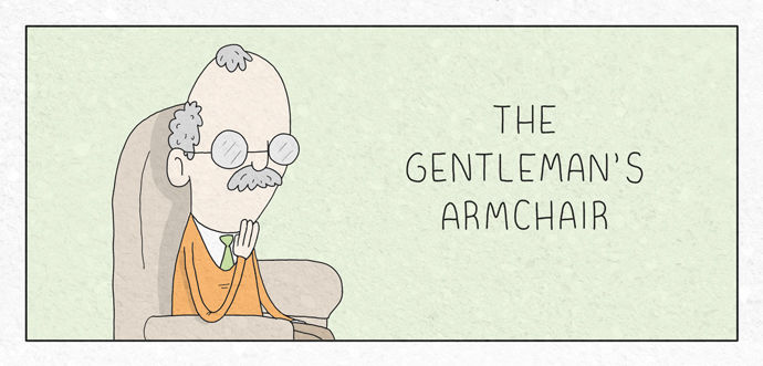 The Gentleman's Armchair 71: Product Launch at MangaFox.la