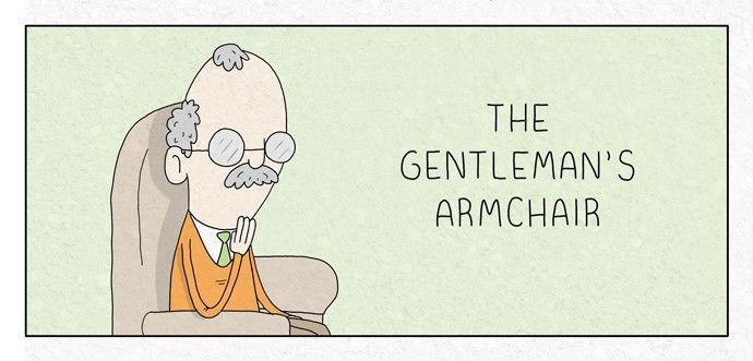 The Gentleman's Armchair 72: Fitness at MangaFox.la