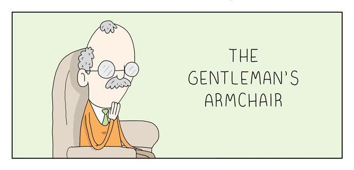 The Gentleman's Armchair 74: Haircut at MangaFox.la