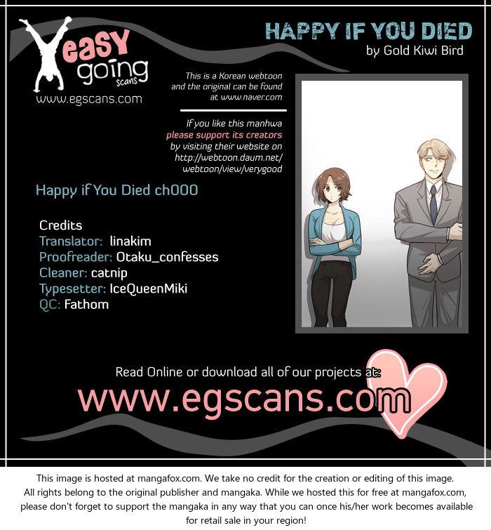 Happy if You Died 0 at MangaFox.la