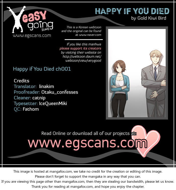 Happy if You Died 1 at MangaFox.la