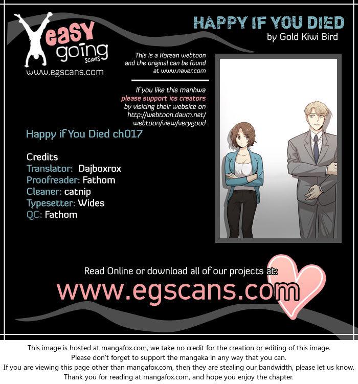 Happy if You Died 17 at MangaFox.la