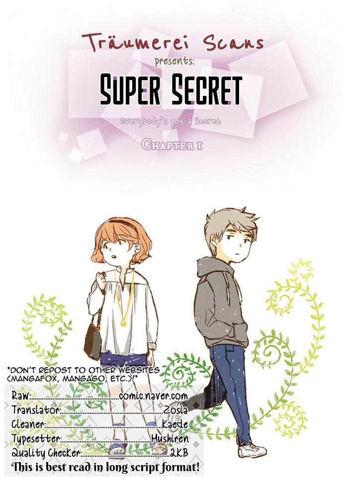 Super Secret 1 at MangaFox.la