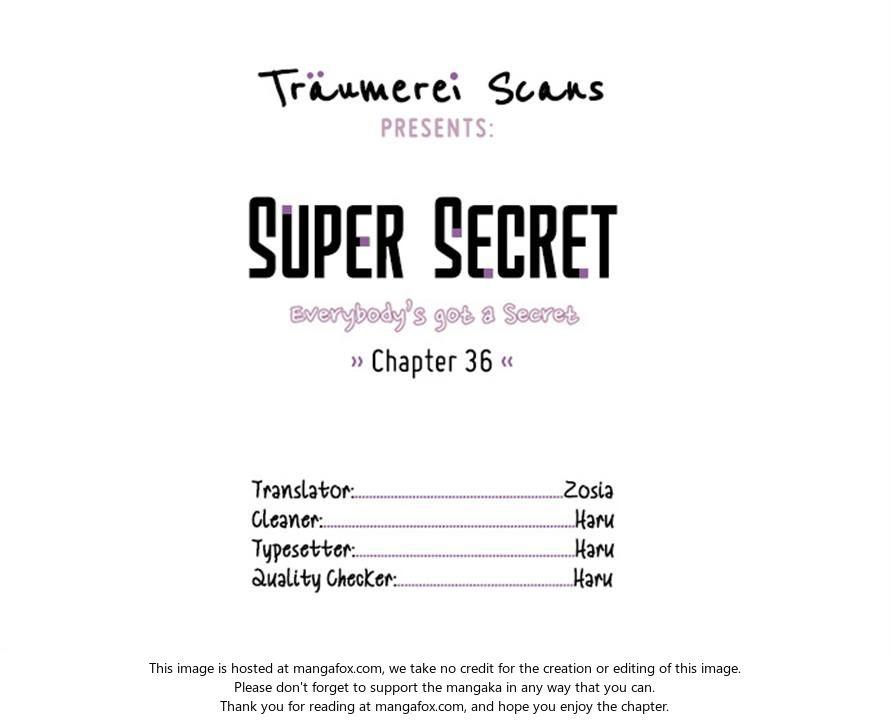 Super Secret 36 at MangaFox.la
