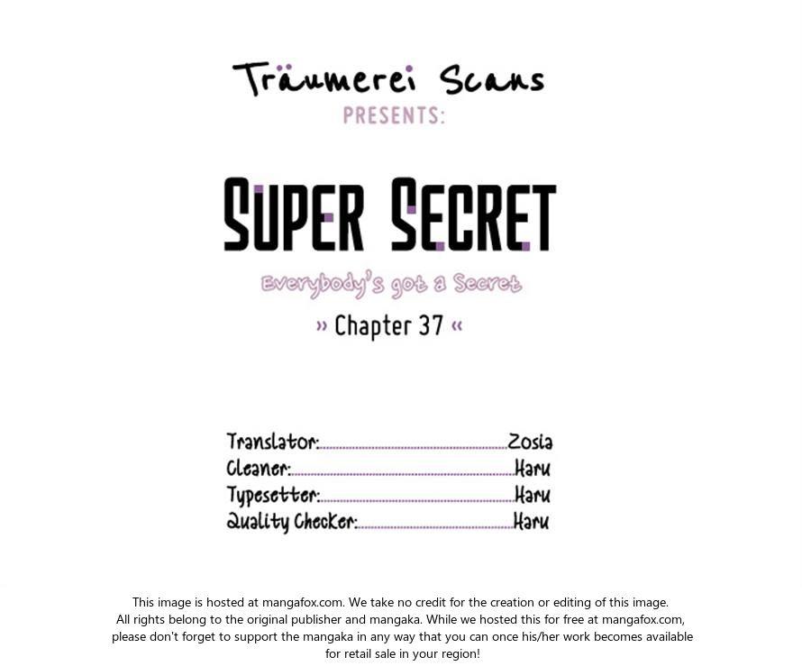 Super Secret 37 at MangaFox.la