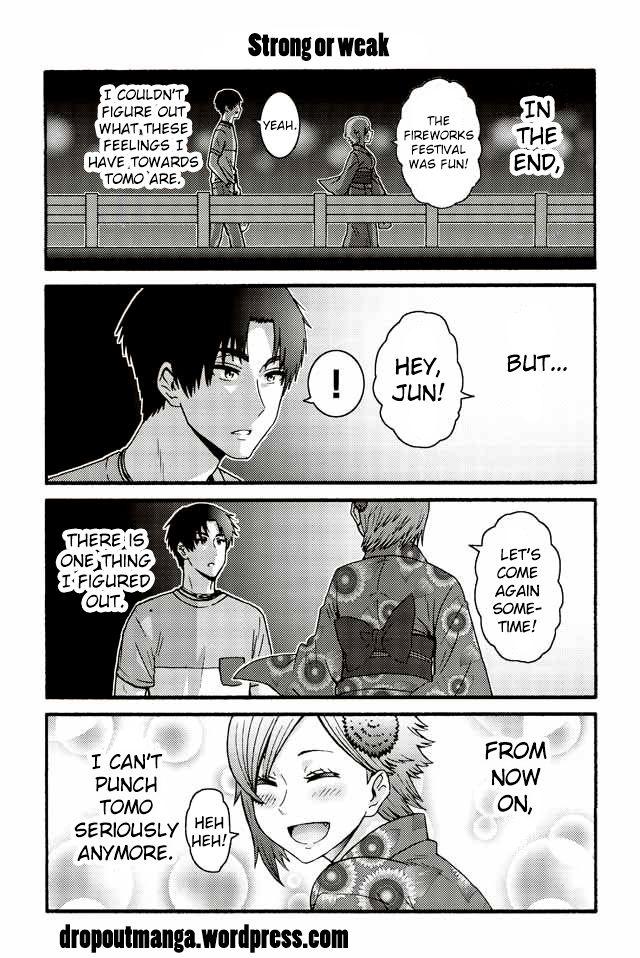 Tomo-chan wa Onnanoko! 517: Strong or weak at MangaFox