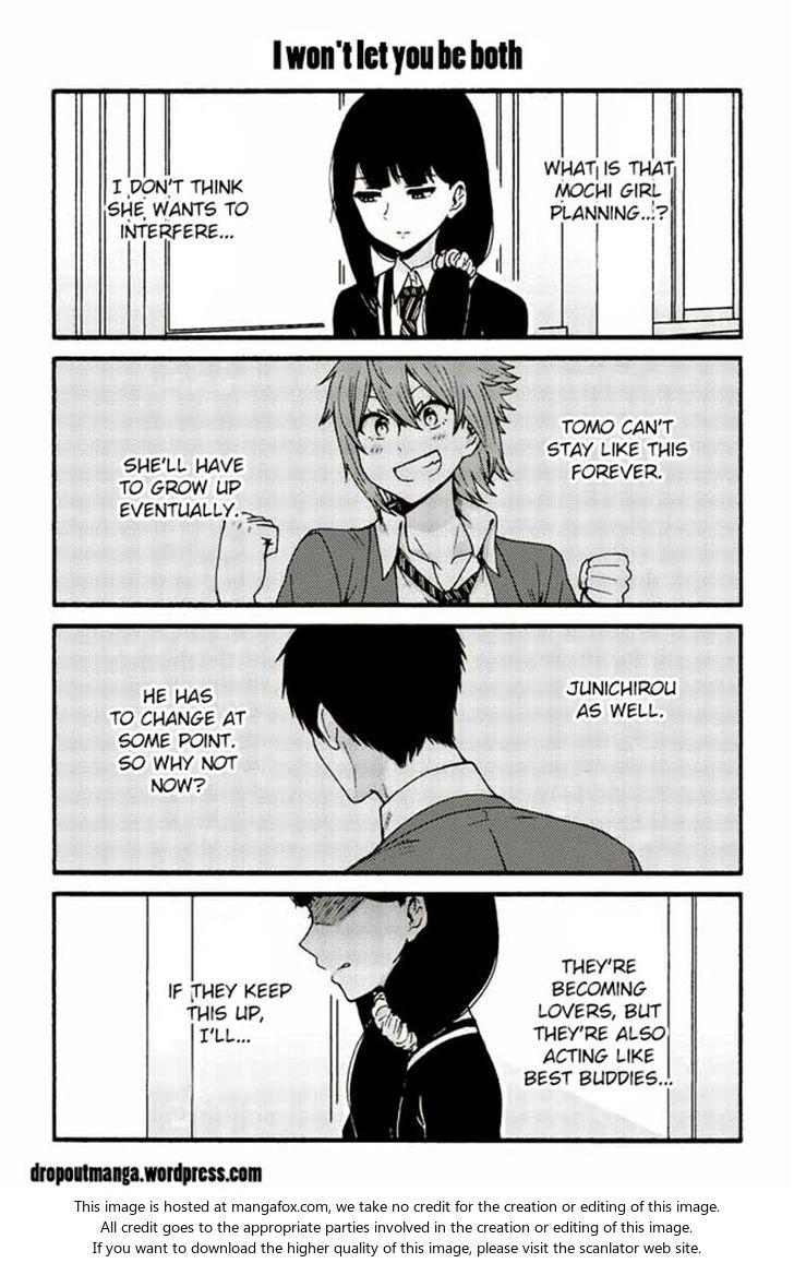 Tomo-chan wa Onnanoko! 522: I won't let you be both at MangaFox
