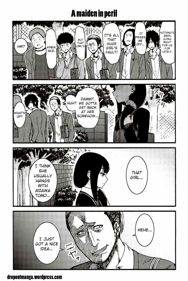 Tomo-chan wa Onnanoko! 523: A maiden in peril at MangaFox