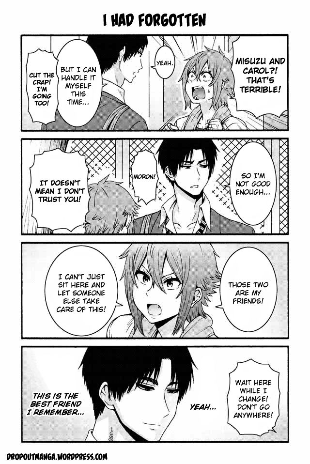 Tomo-chan wa Onnanoko! 532: I had forgotten at MangaFox