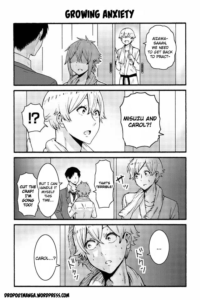 Tomo-chan wa Onnanoko! 533: Growing anxiety at MangaFox