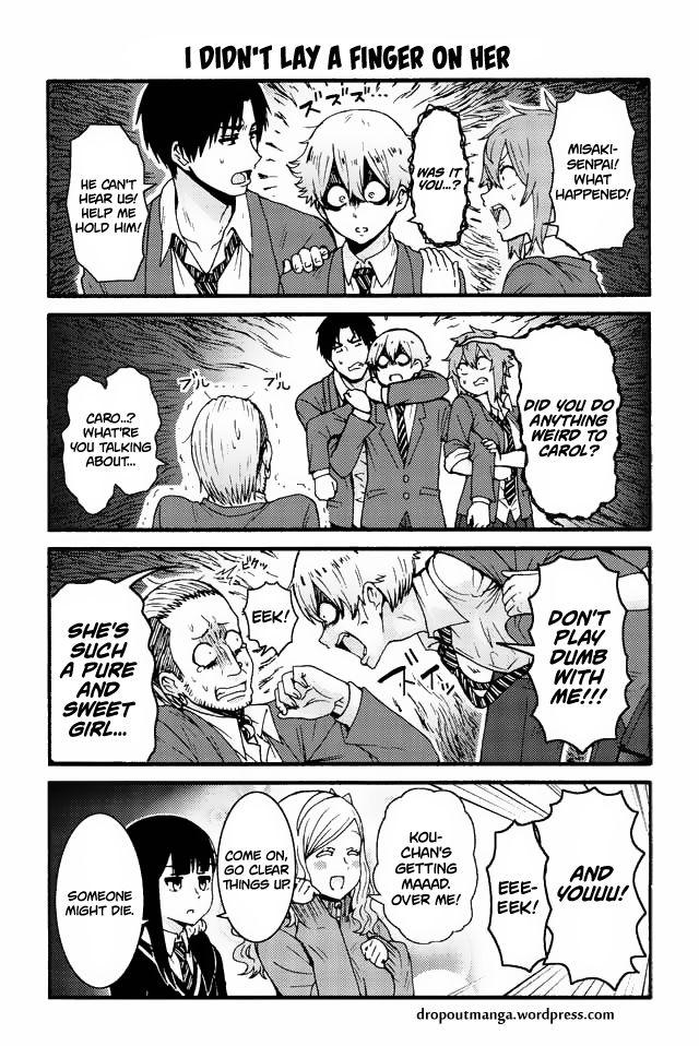 Tomo-chan wa Onnanoko! 539: I didn't lay a finger on her at MangaFox