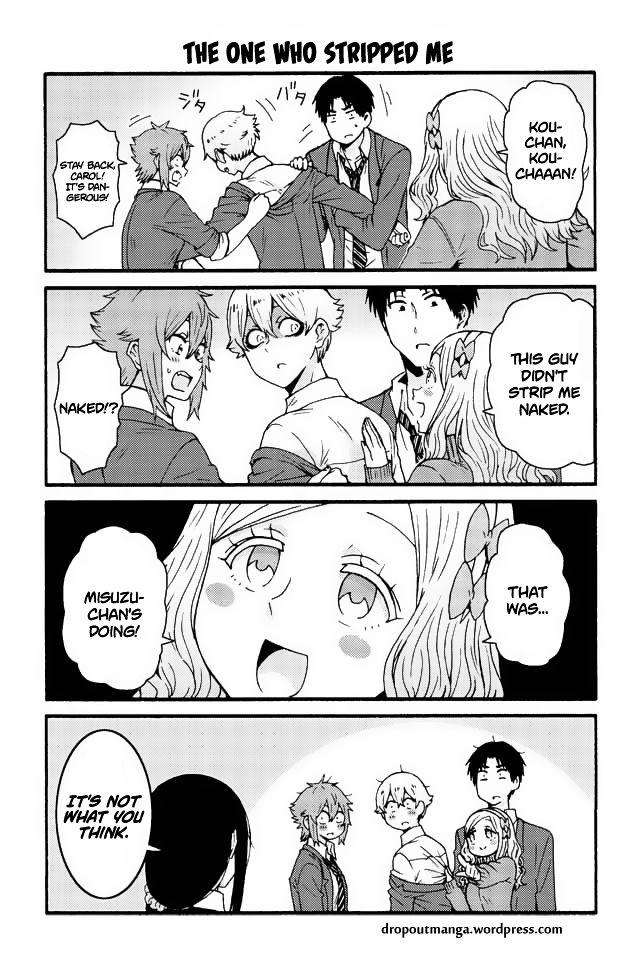 Tomo-chan wa Onnanoko! 540: The one who stripped me at MangaFox