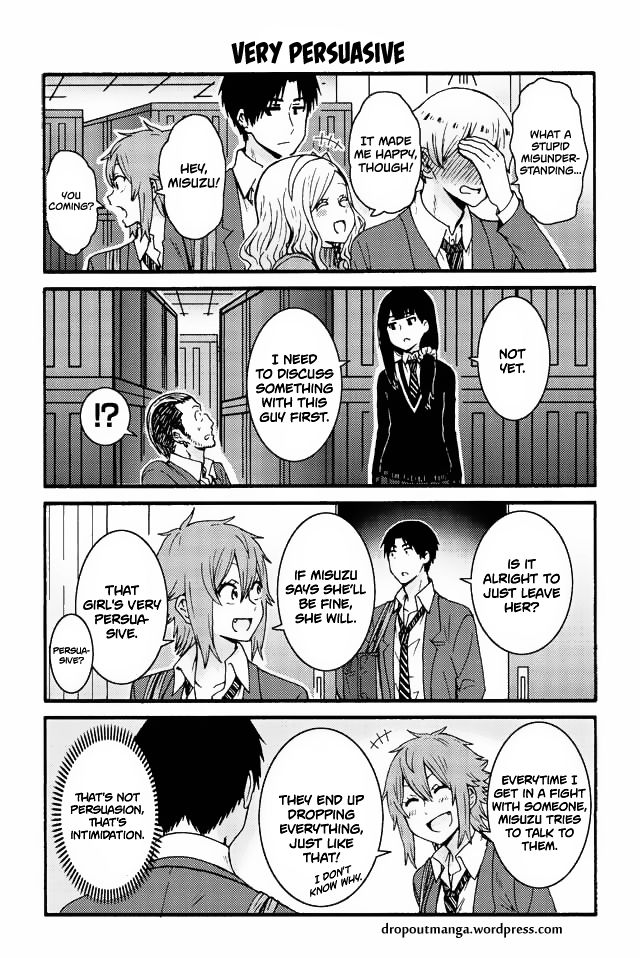 Tomo-chan wa Onnanoko! 541: Very persuasive at MangaFox