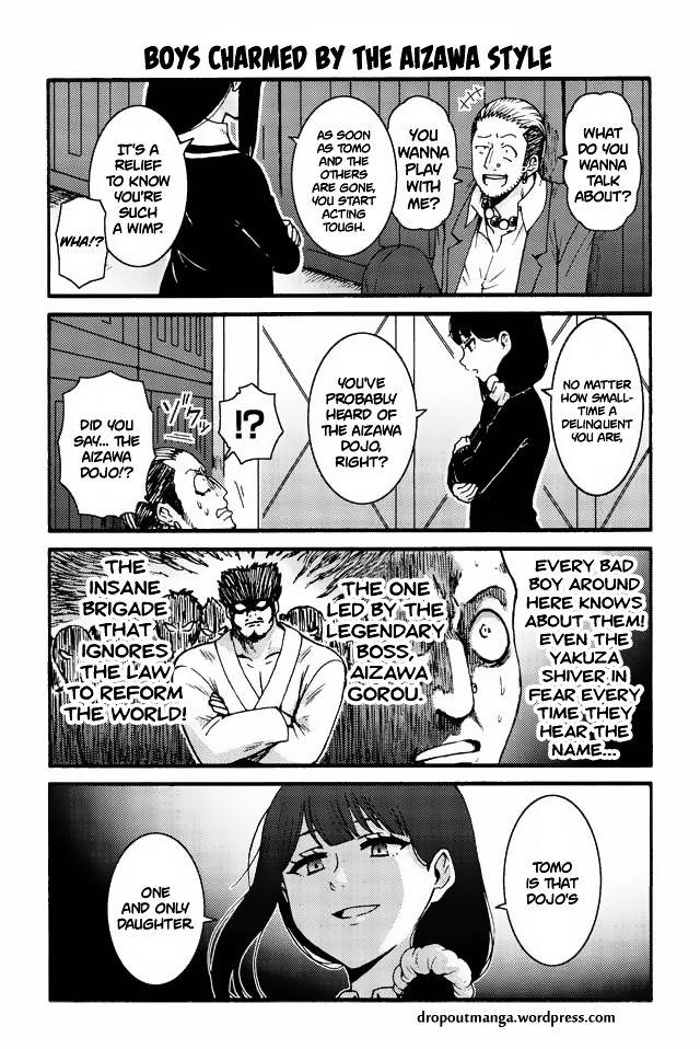 Tomo-chan wa Onnanoko! 542: Boys charmed by the Aizawa style at MangaFox