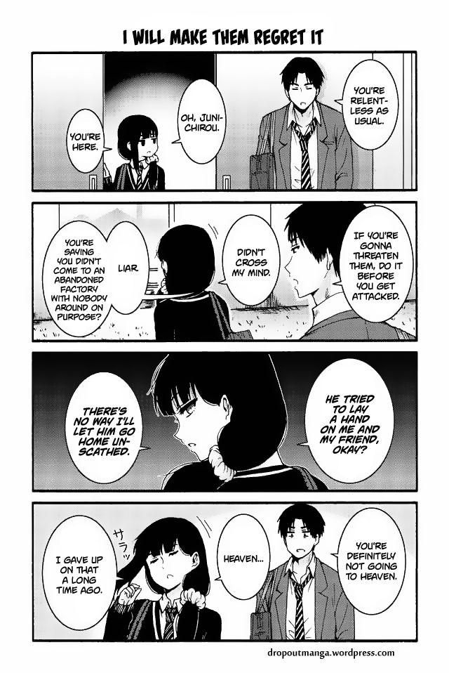 Tomo-chan wa Onnanoko! 544: I will make them regret it at MangaFox