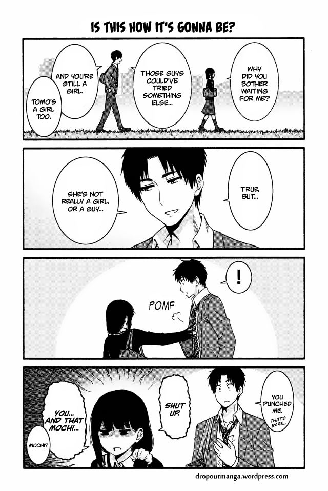 Tomo-chan wa Onnanoko! 545: Is this how it's gonna be? at MangaFox