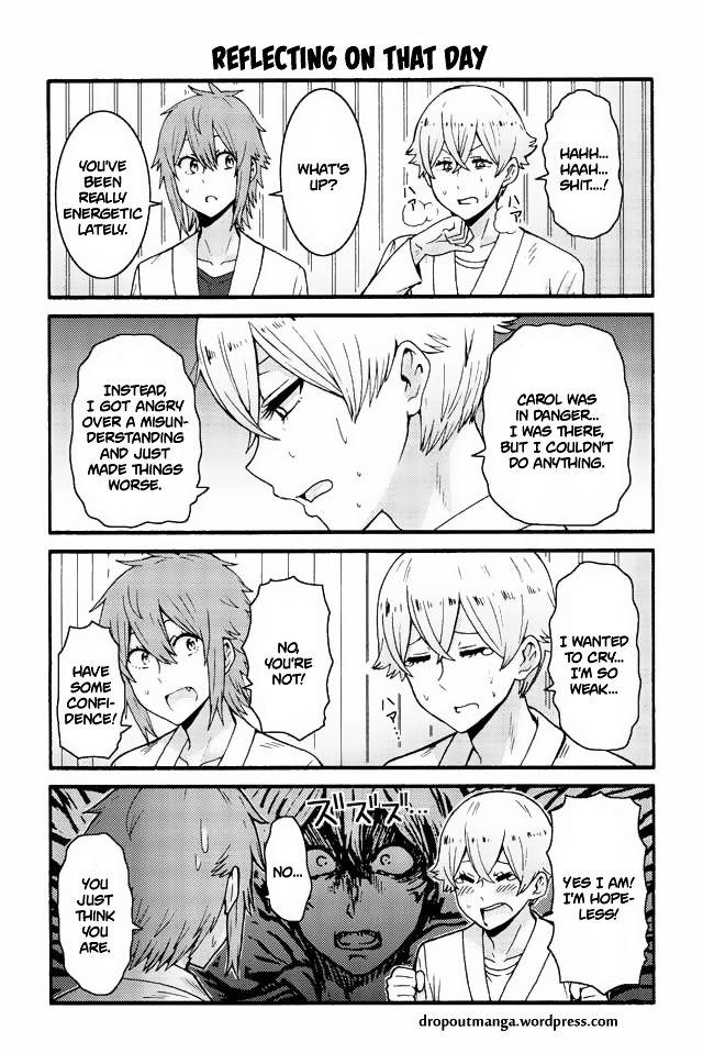 Tomo-chan wa Onnanoko! 549: Reflecting on that day at MangaFox