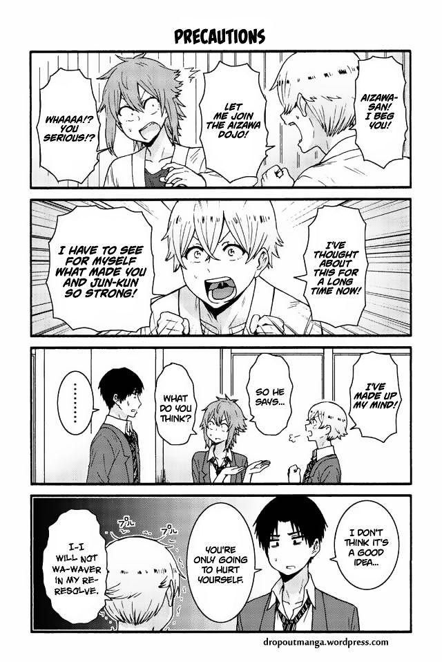 Tomo-chan wa Onnanoko! 550: Precautions at MangaFox