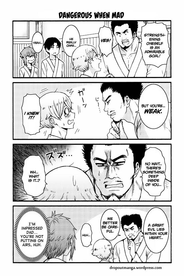 Tomo-chan wa Onnanoko! 552: Dangerous When Mad at MangaFox