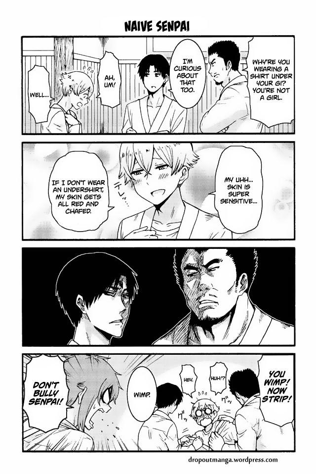 Tomo-chan wa Onnanoko! 553: Naive senpai at MangaFox
