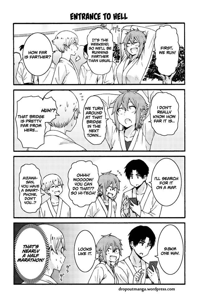 Tomo-chan wa Onnanoko! 554: Entrance to hell at MangaFox