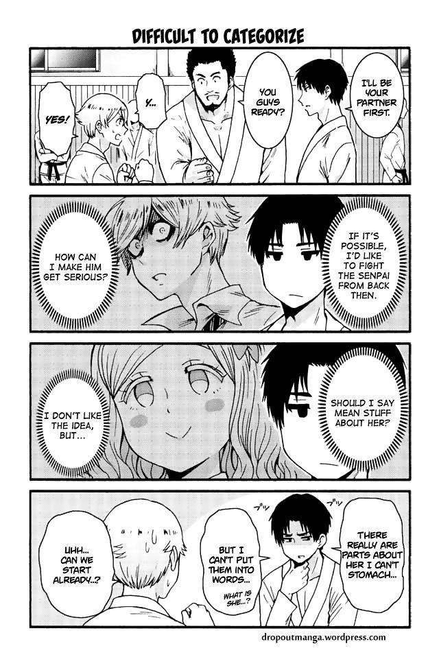 Tomo-chan wa Onnanoko! 558: Difficult to categorize at MangaFox
