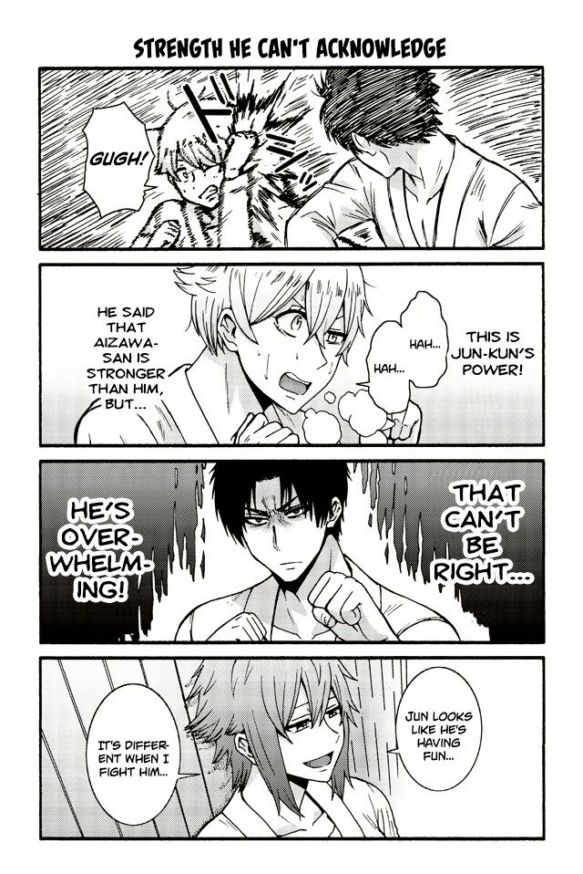Tomo-chan wa Onnanoko! 560: Strength he can't acknowledge at MangaFox
