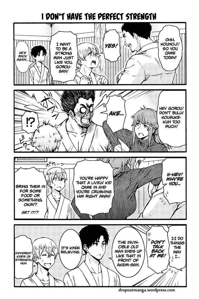 Tomo-chan wa Onnanoko! 567: I don't have the perfect strength at MangaFox