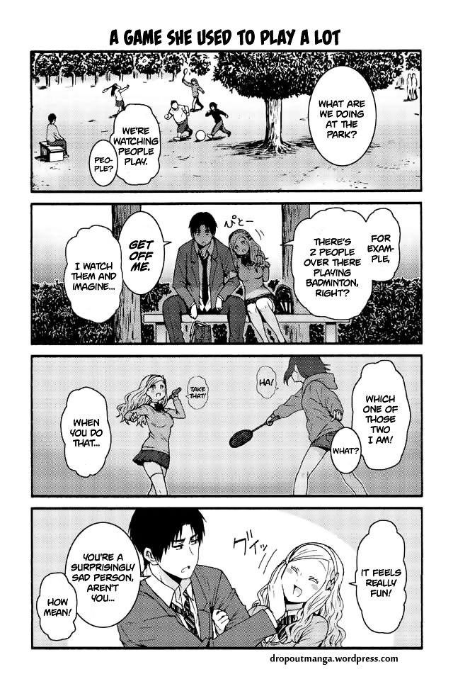 Tomo-chan wa Onnanoko! 576: A game she used to play a lot at MangaFox