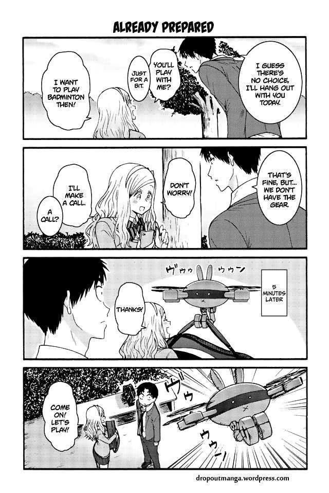 Tomo-chan wa Onnanoko! 579: Already Prepared at MangaFox
