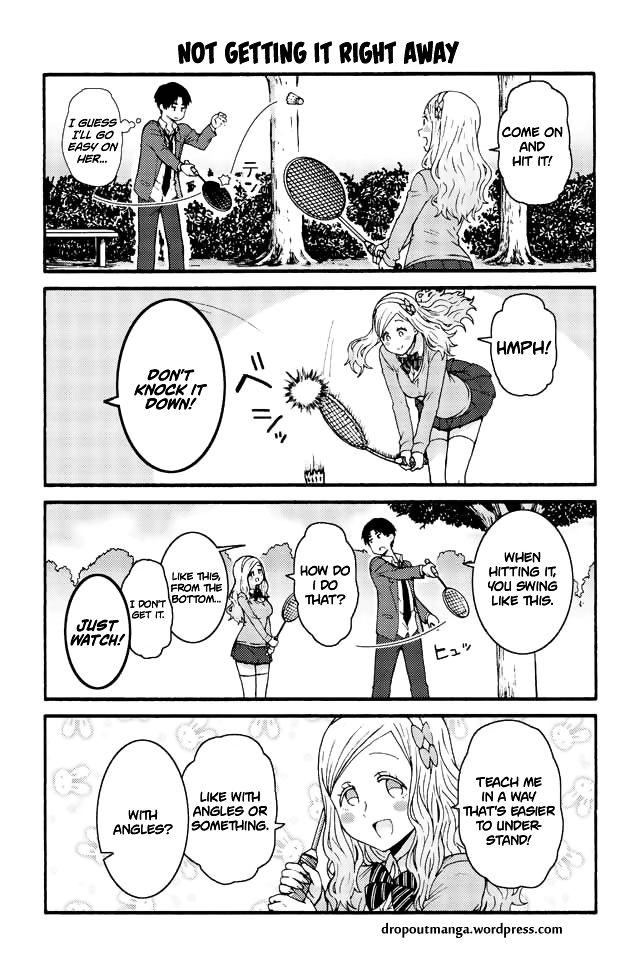 Tomo-chan wa Onnanoko! 580: Not getting it right away at MangaFox
