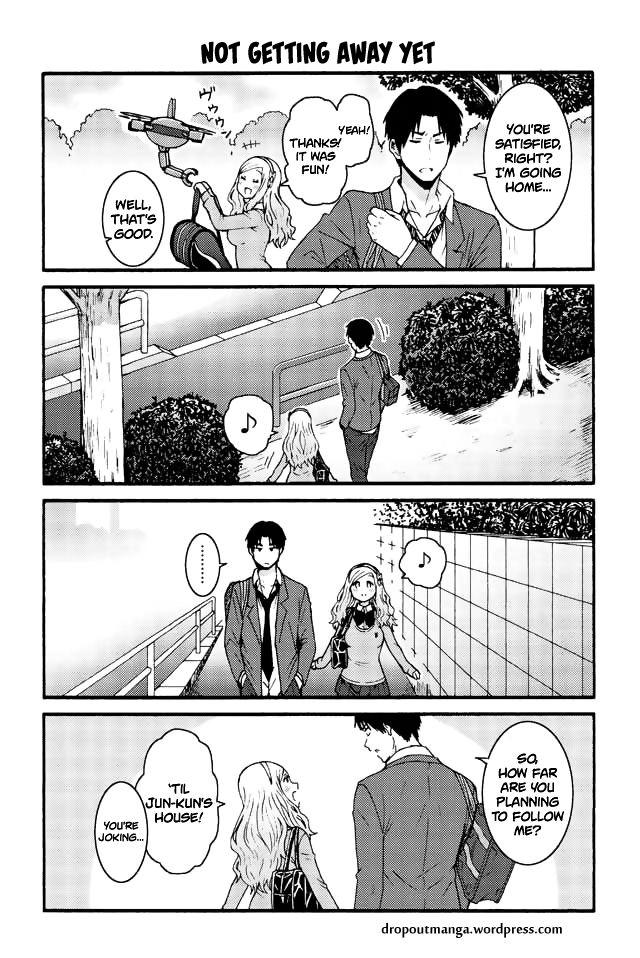 Tomo-chan wa Onnanoko! 583: Not getting away yet at MangaFox