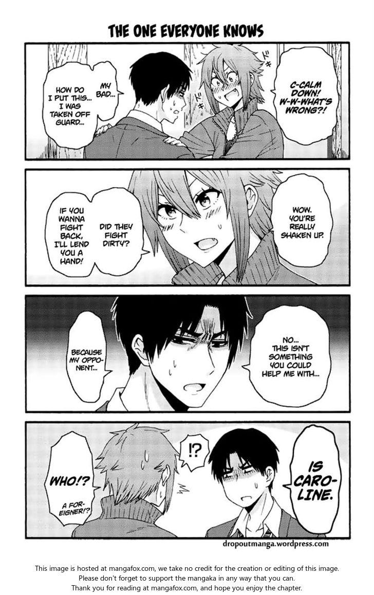 Tomo-chan wa Onnanoko! 591: The one everyone knows at MangaFox