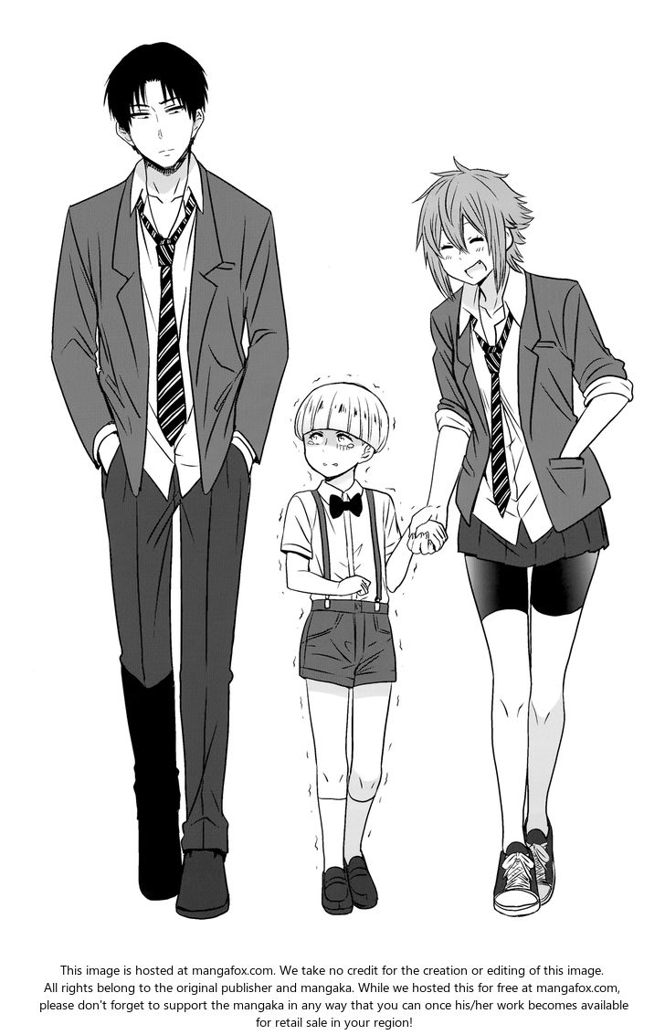 Tomo-chan wa Onnanoko! 602.5: V05 Extras at MangaFox