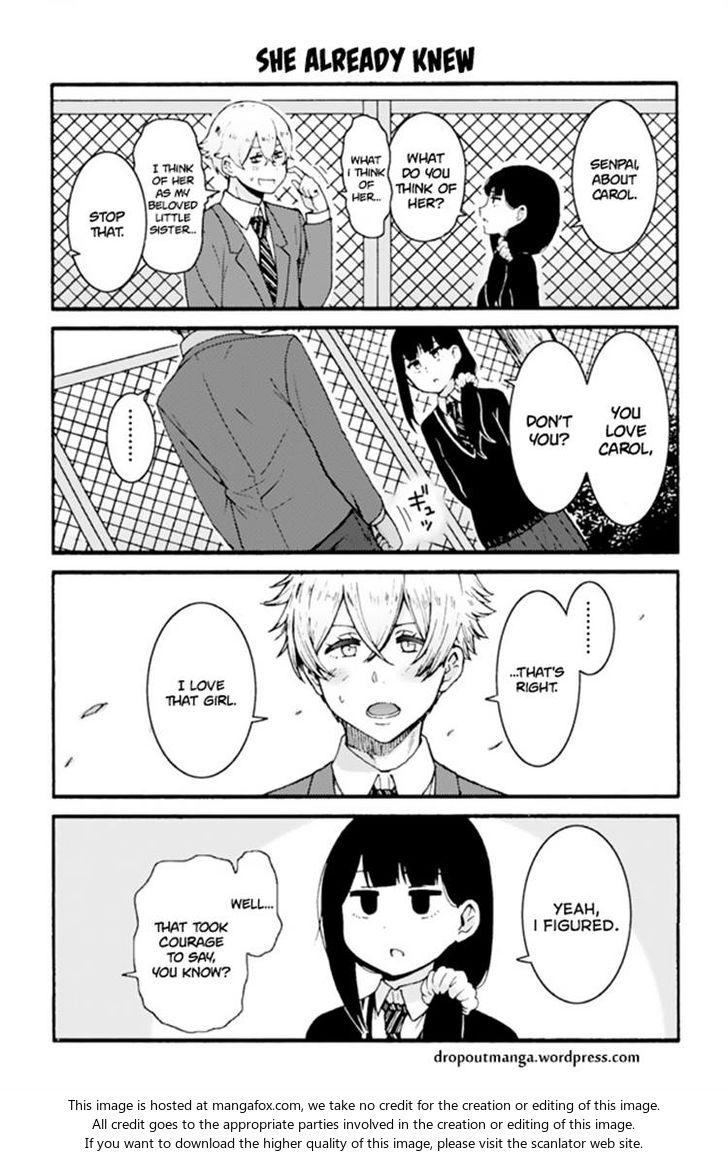 Tomo-chan wa Onnanoko! 605: She Already Knew at MangaFox