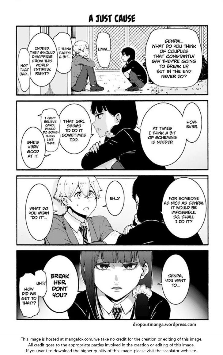 Tomo-chan wa Onnanoko! 610: A Just Cause at MangaFox