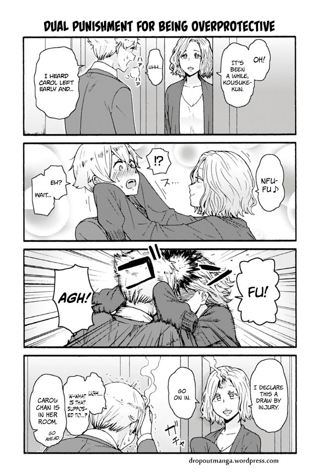 Tomo-chan wa Onnanoko! 618: Dual Punishment For Being Overprotective at MangaFox