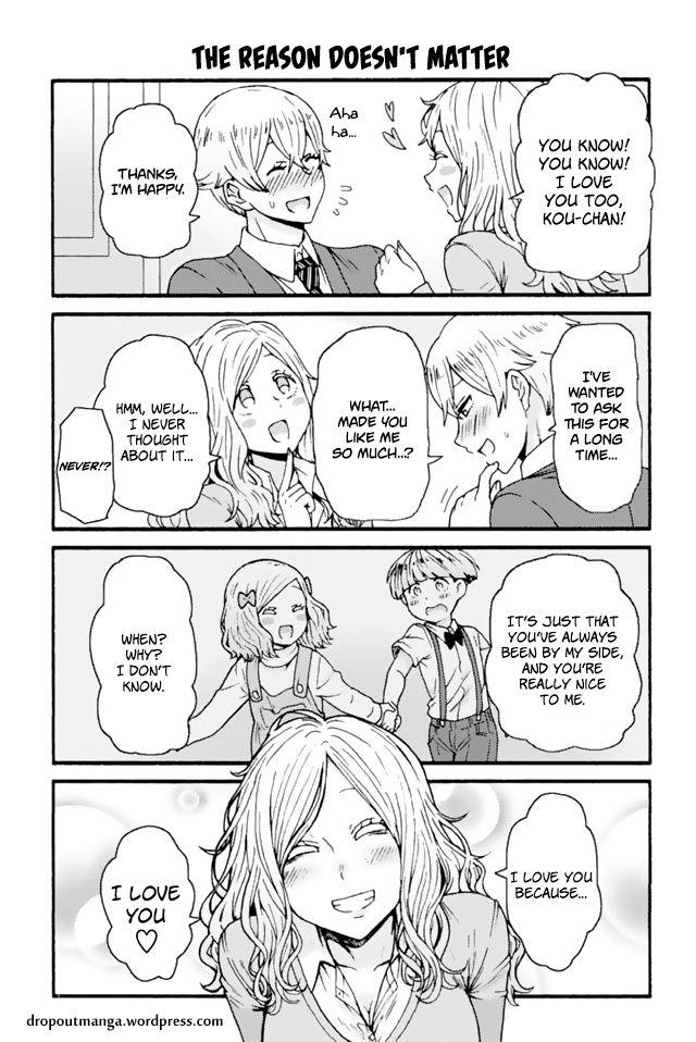 Tomo-chan wa Onnanoko! 626: The Reason Doesn't Matter at MangaFox