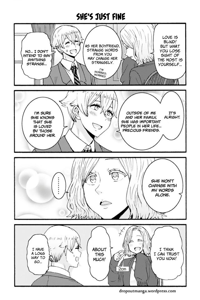 Tomo-chan wa Onnanoko! 629: She's Just Fine at MangaFox
